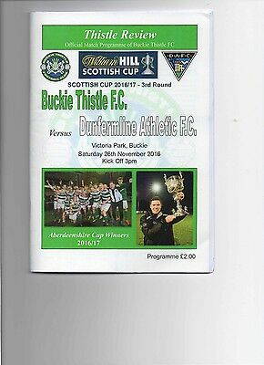 16/17 Buckie Thistle V Dunfermline Athletic (3-5)(Scottish Cup 3Rd Round)