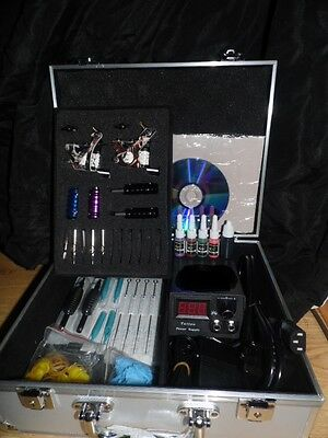 New Dragon Hawk Uk Tattoo Kit Cased Set Up And Ready To Go