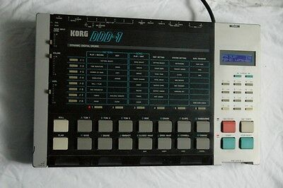 "KORG DDD-1 *""SPECIAL VERSION"" Drumcomputer Drum Machine Electronic MADE IN JAPAN"