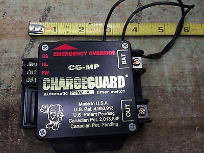 CHARGEGUARD  Havis CH-MP fully fuctional used Timer Cutoff for radio/lights