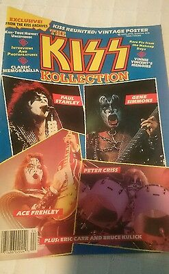 Kiss Special Magazine Kollection With Poster Very Rare Revista