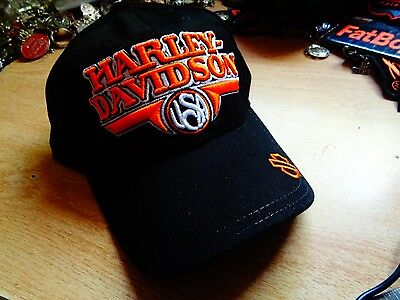 Harley Davidson Hat Factory HD Limited Edition Classic Motorcycle Emblem NOS