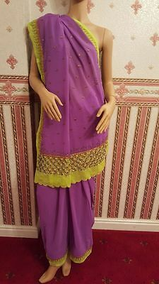 Purple Indian Saree