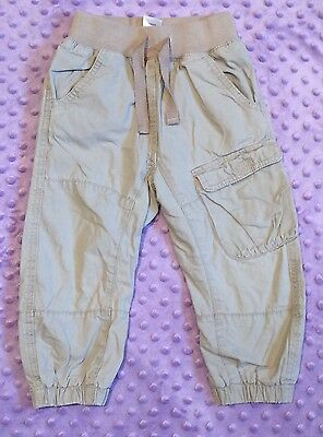 Baby girl's lined trousers; Next size 18-24 months