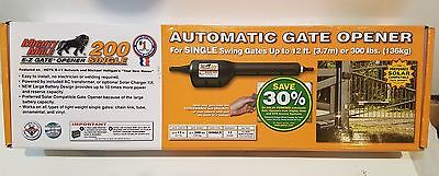 Mighty Mule FM200 Single Swing Automatic Driveway Gate Opener (up to 300 lbs.)
