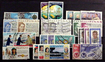 Philippines. 12 Complete Used Sets.