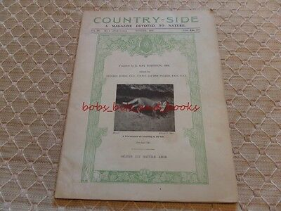 Vintage Country Side Magazine Devoted To Nature Winter 1931 Fox