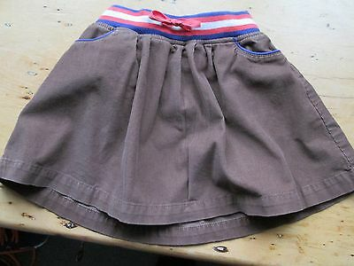 Mini Boden Chestnut Brown Needlecord Skirt 3 to 4 Years