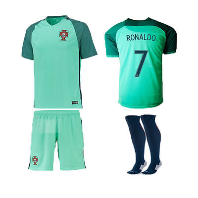 Portugal 2016 maillot de foot +shorts Nike Neuf sous blister taille M