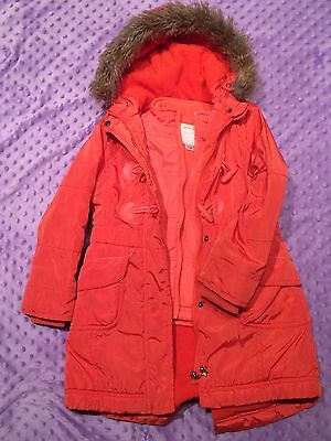 Girl's Vertbaudet  3-in-1 parka ; size 5-6 Years
