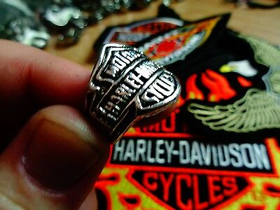 Vintage Harley Davidson Ring Factory HD Motorcycle Dealership Jewelry Size 12