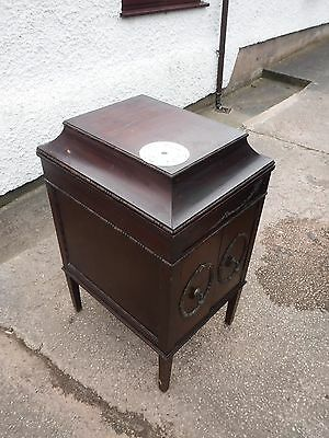 Edwardian  Gramophone Cabinet  Only.