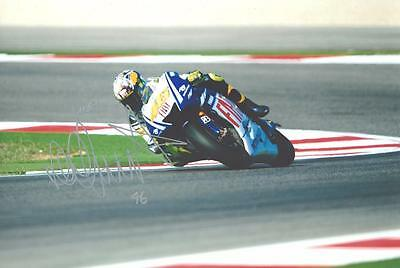"""12""""x8"""" Signed Photograph of Valentino Rossi - Plus Cert of Authenticity"""