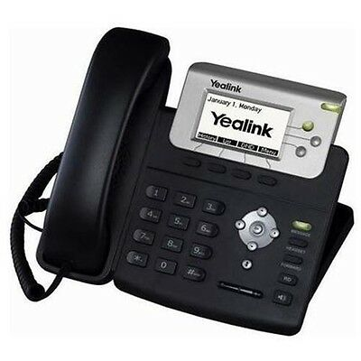 Yealink T22P IP Phone with UK power supply - 3 Month Warranty - Free Delivery