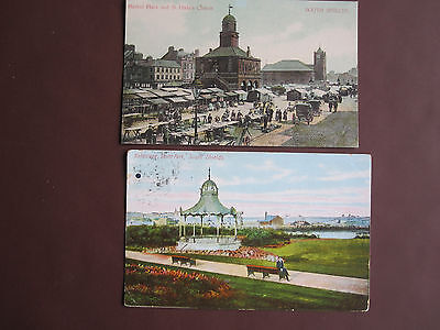 South Shields - 2 vintage / old post cards- see below