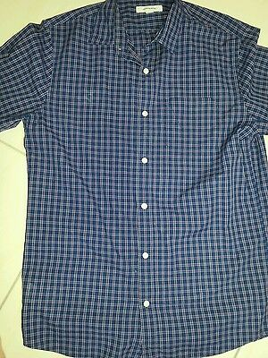 Men's Country Road Checked Long-Sleeve Shirt - Size S