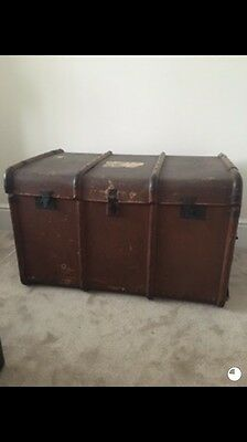 Vintage Steamer Trunk Large