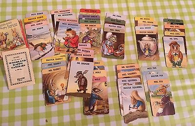 Vintage 1970s Woodland Happy Families Card Game