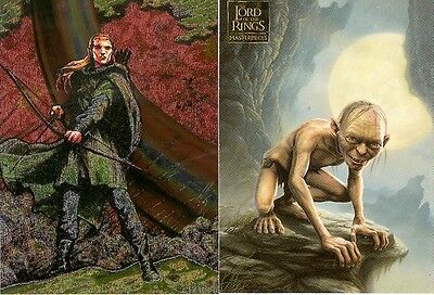 Lord of the Rings Masterpiece Set & Etched Foil Puzzle Set