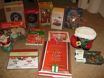 Lot Of Assorted Xmas Christmas Items