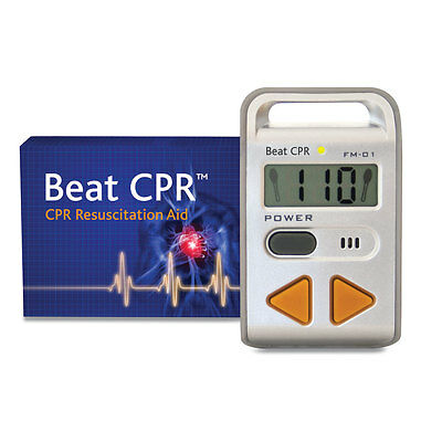 Audio Beat Resuscitation CPR Trainer - keep your CPR training correct (ref 2860)