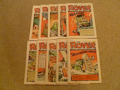 10 X The Rover Comic February - April 1972