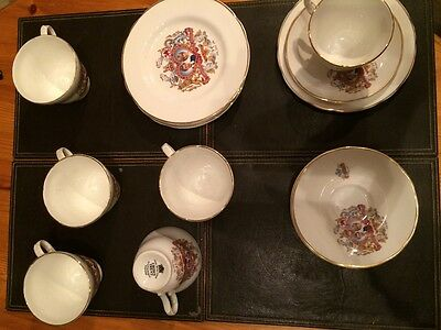 Charles & Diana Wedding / commemorative 18 pc tea set