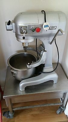 Hobart Stand Mixer on Metal wheeled table