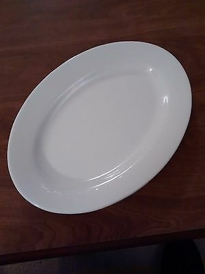 """Buffalo China Oval Platter 12 1/4"""" in EXC Cond"""
