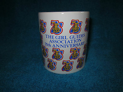 Vintage 1985 Girl Guides 75Th Anniversary Mug