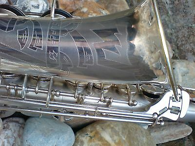 Vintage Sml Alto Saxophone Super 45 Extremely Rare Unusual Mint Condition