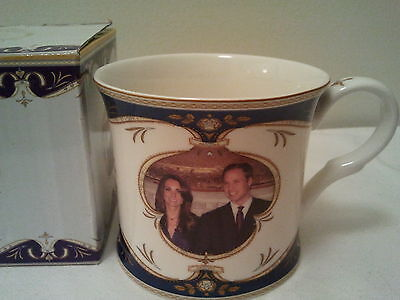 Royal Crest Royal Wedding Prince William And Catherine Collectors Coffee Tea Cup