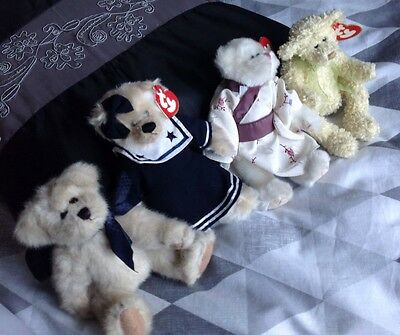 TY  Bears COLLECTION X4