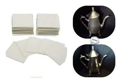 Jewelry Polishing Cloth Pads For Really Dirty Silver & Jewellery Tarnish Remover