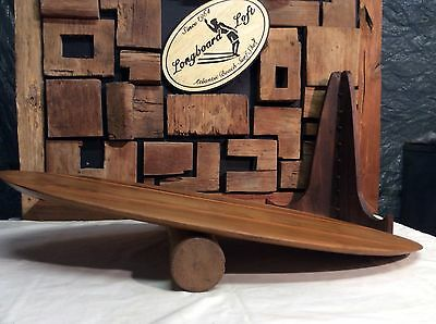 Teak balance board, from indo, Wobble Board Surf Core trainer  yoga skateboard