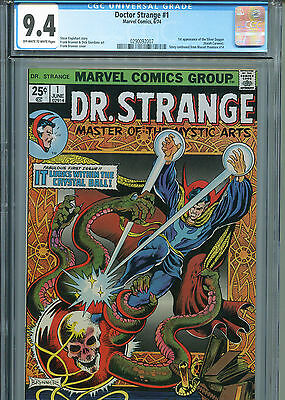 Doctor Strange #1 (Marvel 1974) CGC 9.4 Off-White to White pages