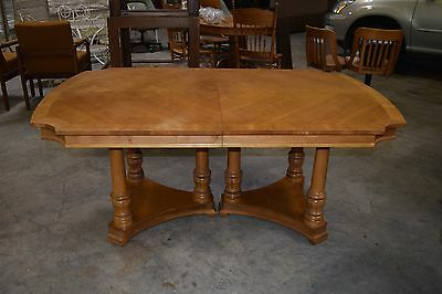 Drexel Heritage Dining Table Francesca Includes Protector Seats 6
