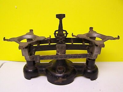 Vintage Cast Iron Balance Grocer Scale Weight
