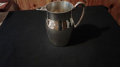 Elegant Atp Silver Plate Water Pitcher Great Condition With Ice Catcher