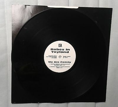 "Babes In Toyland We are family  12"" EP promo white label grunge"