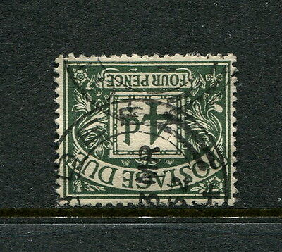 GB GREAT BRITAIN sg d31wi POSTAGE DUE V/F/USED INVERTED WMK