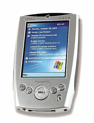 Dell Axim X5 PDA Pocket PC + all accessories inc New Backup Battery