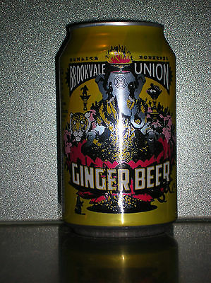 330Ml 4 Pines Brookvale Union Ginger Beer Can