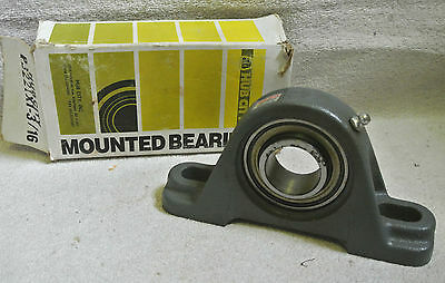 Hub City Mounted Pillow Block Bearing PB221X1-3/16 IndustriaLine Steel New/NOS