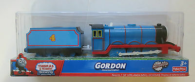 New In Box Thomas & Friends Trackmaster Motorized Engine Gordon with carriage
