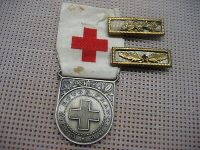 France Medal French Red Cross + two medal bars