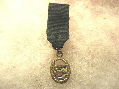 German Miniature Medal Army Tank Attack Medal