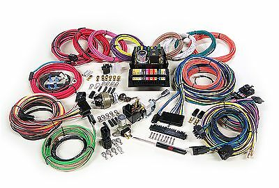 American Autowire Highway 15 Circuit Complete Wiring Harness Kit  #500703