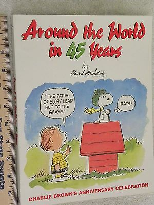 Peanuts..Around the World in 45 Years...SC...Snoopy, Charlie Brown..
