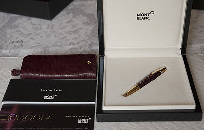 Montblanc Boheme Jewels Rodolit Rouge Ballpoint Pen Kit